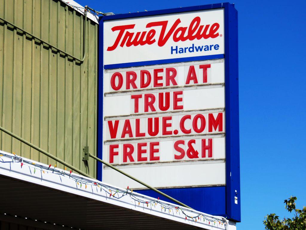 true value shop online free shipping reader board 2017-07-08