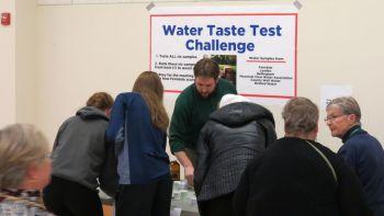 COF blind water taste test