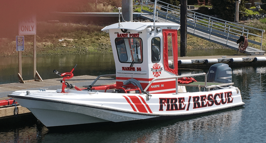 WCFD17 MARINE 56 put into service 2018-04-25 photo wcfd17