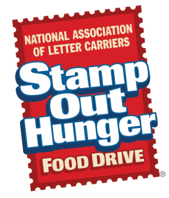 national letter carriers stamp out hunger food drive logo
