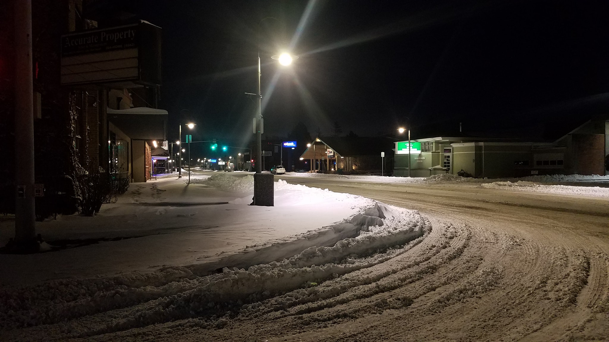 3rd and main after snowstorm 2019-02-11 photo tim probst