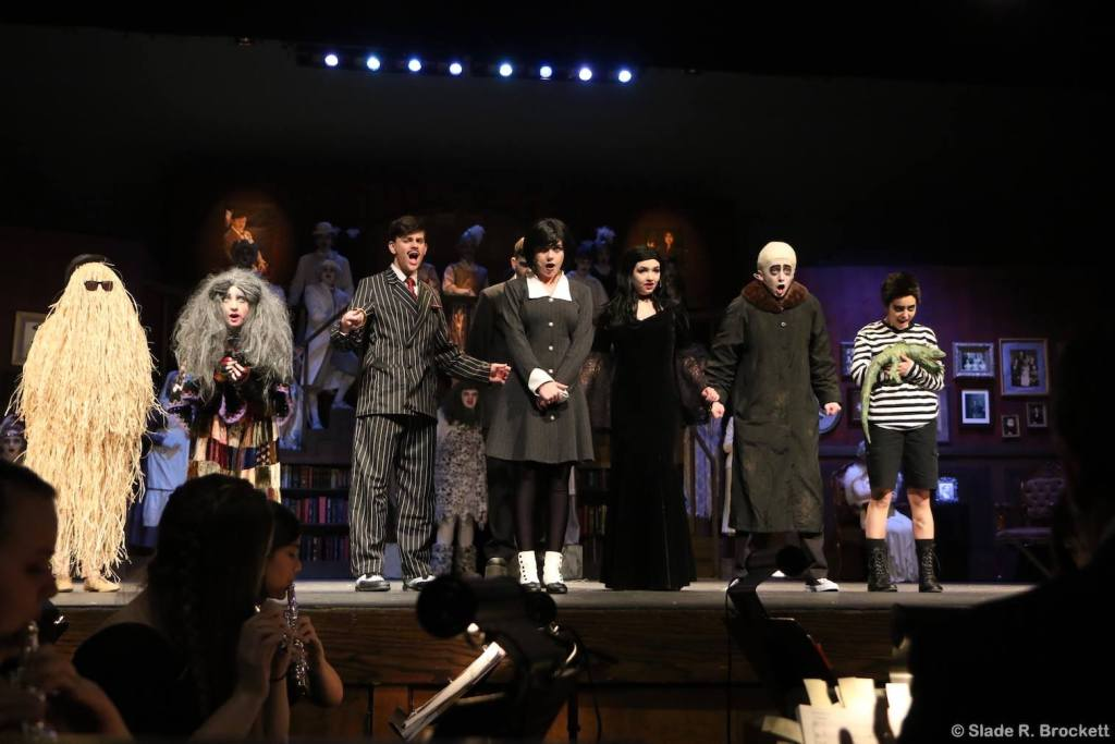 A scene from the Ferndale High School permformance of Addams Family (February 21, 2019). Photo courtesy of Slade Brockett.