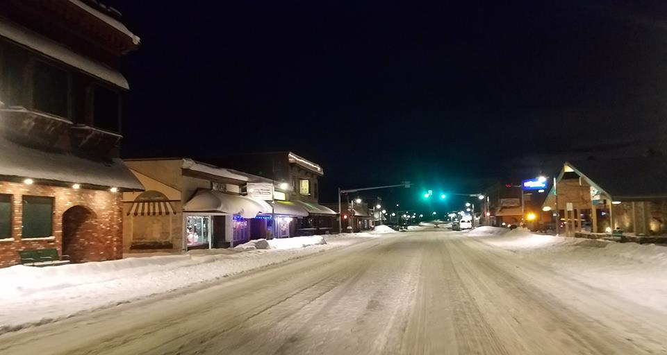 main st downtown after 3rd day of snow 2019-02-13 photo tim probst