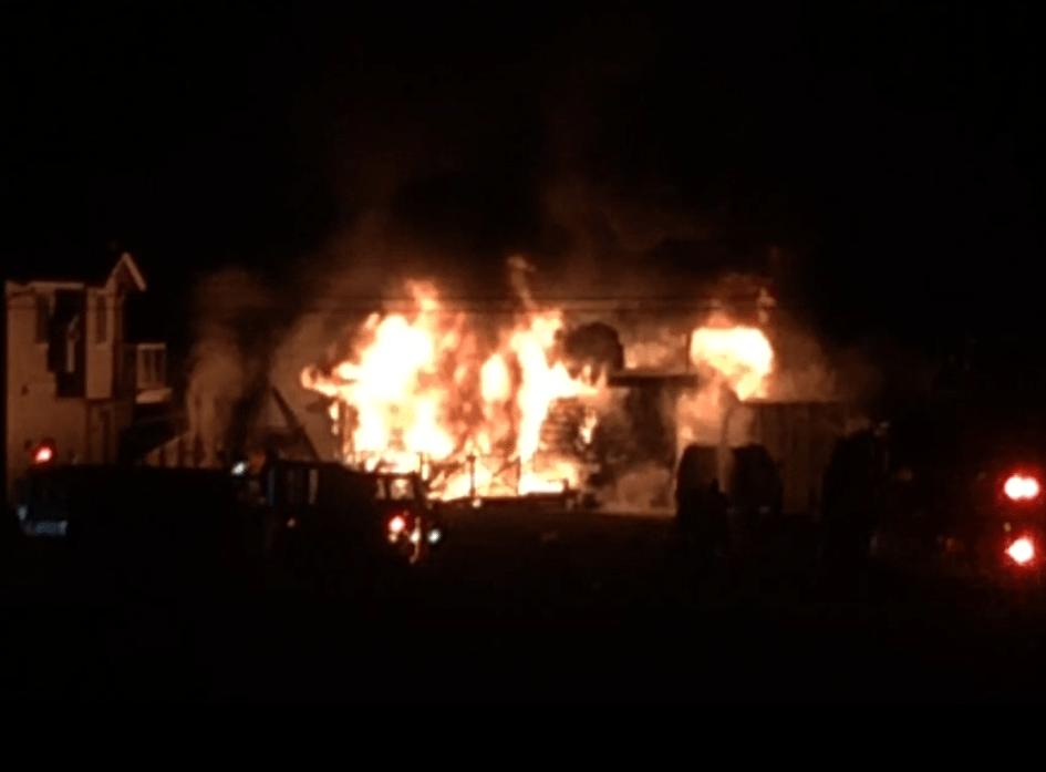 sucia drive residential fire 2019-03-13 0135 Joel Kennedy still