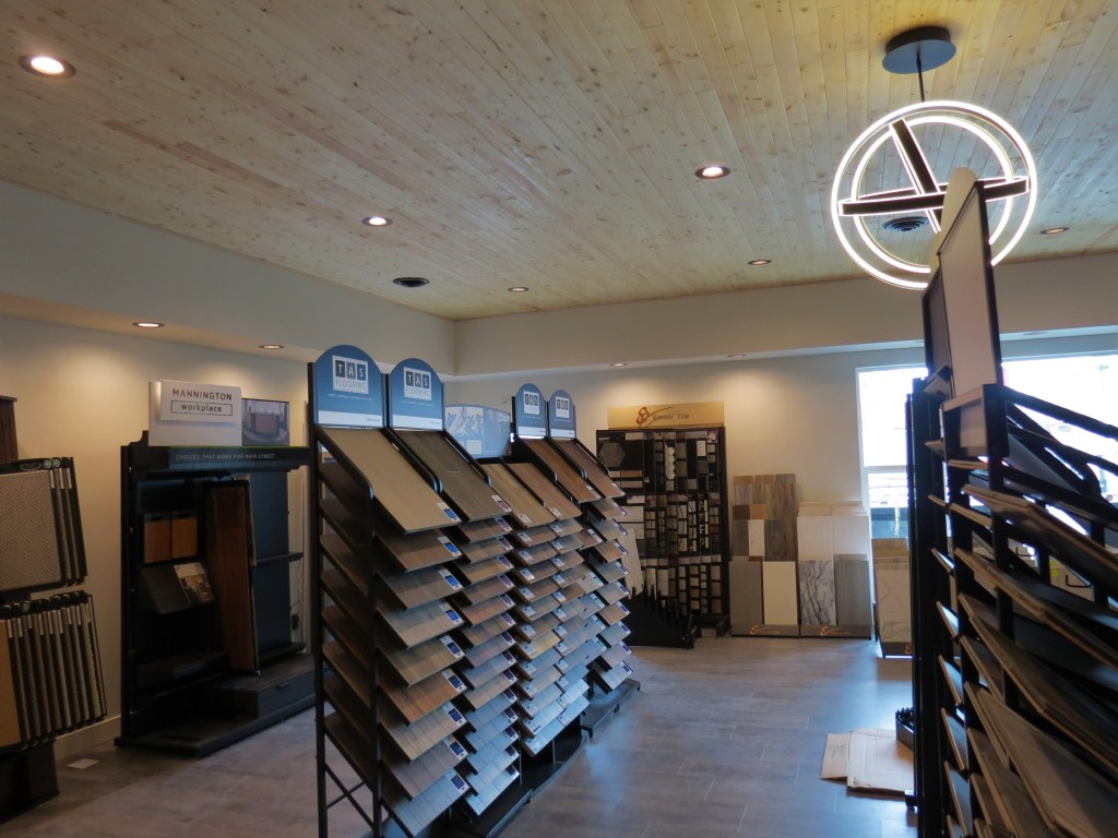 The Morris Floors & Interiors showroom at the company's new Ferndale location at 2002 Main Street (April 19, 2019). Photo: My Ferndale News