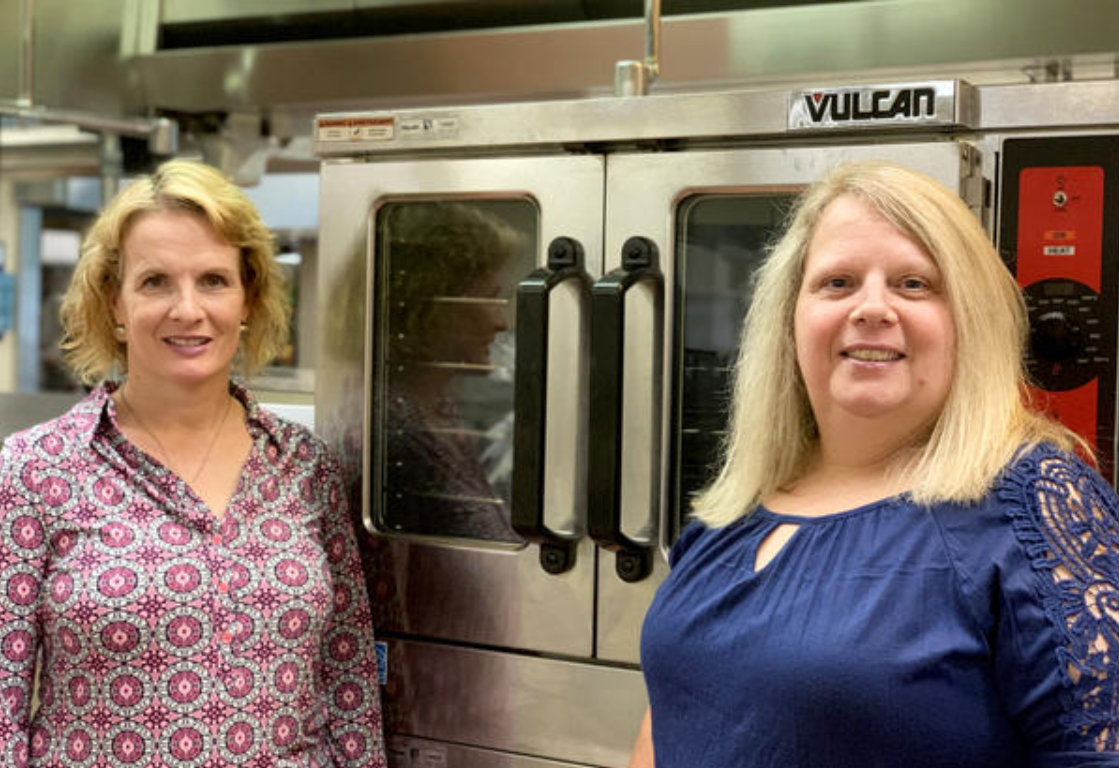 Holly Graham (l) and Yvonne Green (r) (July 2019). Photo: Ferndale School District