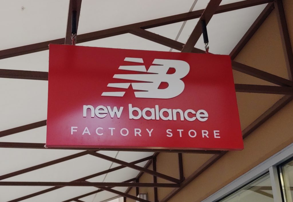 New Balance store sign. Photo: My Ferndale News