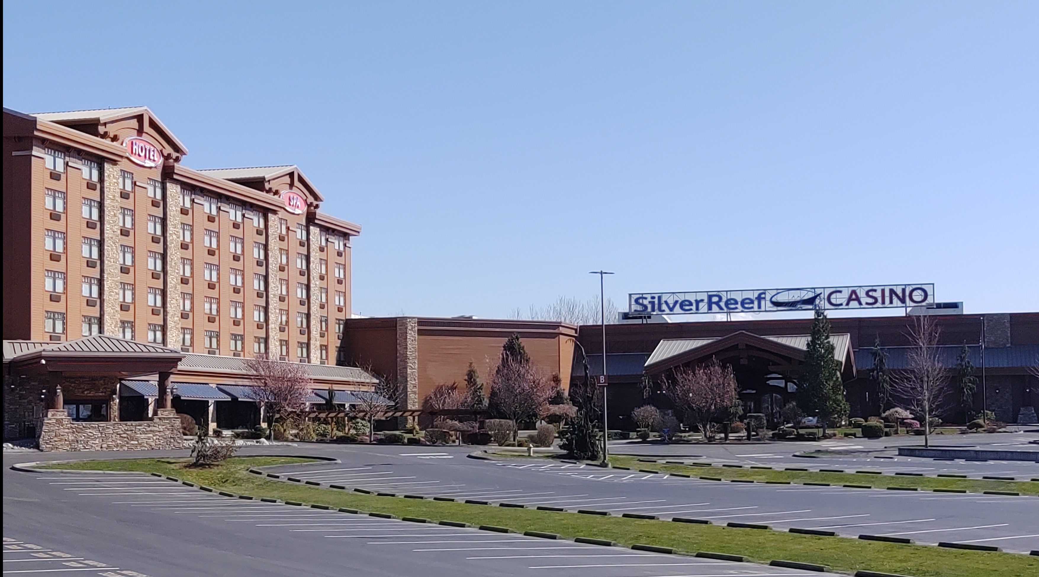 Silver Reef Hotel and Casino exterior (March 20, 2020). Photo: My Ferndale News