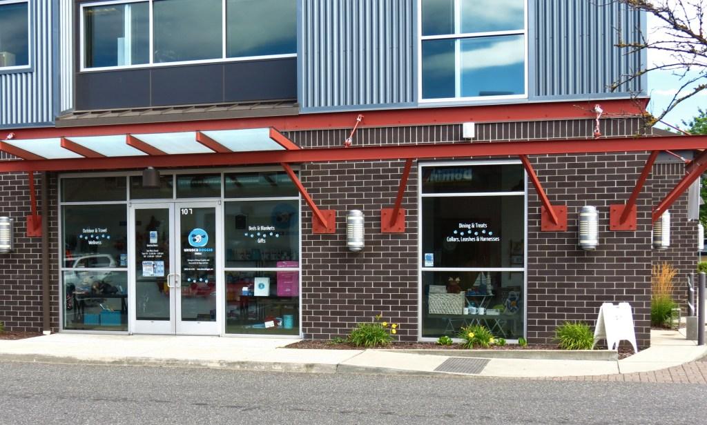UKUSCAdoggie store exterior (August 18, 2020). Photo: My Ferndale News
