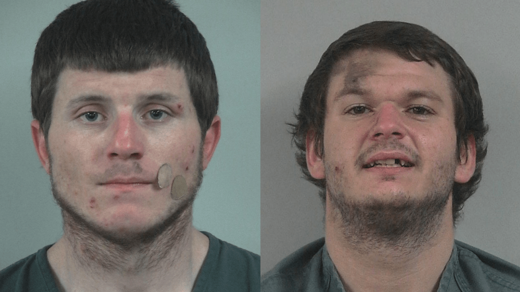 McCracken, Christopher J. (left) and Jonathan E Pickett (right). Photos provided by Whatcom County Sheriff's Office