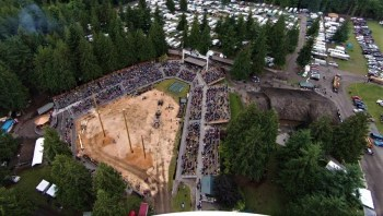 Deming Logging Show grounds. Source: Deming Logging Show