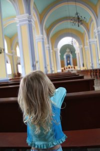 child in cathedral whatcomfamilies