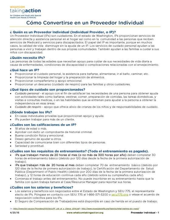 Individual Provider (Spanish) 2016-04-20_Page_1