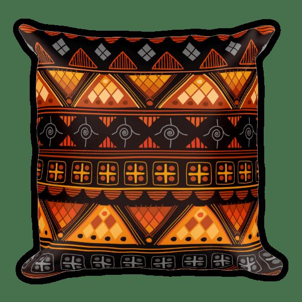 Aztec bright – Native American Styles Decorative Square Pillow
