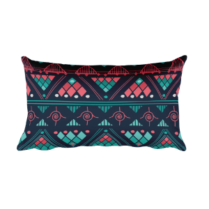 Aztec tender - Native American Styles Decorative Rectangular Pillow