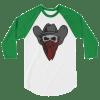 Cowboy Bandit Skull Long-Sleeve Shirt