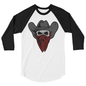 Cowboy Bandit Skull Long-Sleeve Shirt
