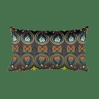 India Jewellery Rectangular Pillow