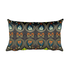 India Jewellery Rectangular Pillow