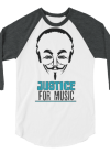 Justice For Music Funny Long-Sleeve Shirt