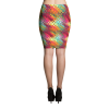 TILEABLE TROPICAL ABSTRACT PATTERNS SKIRT