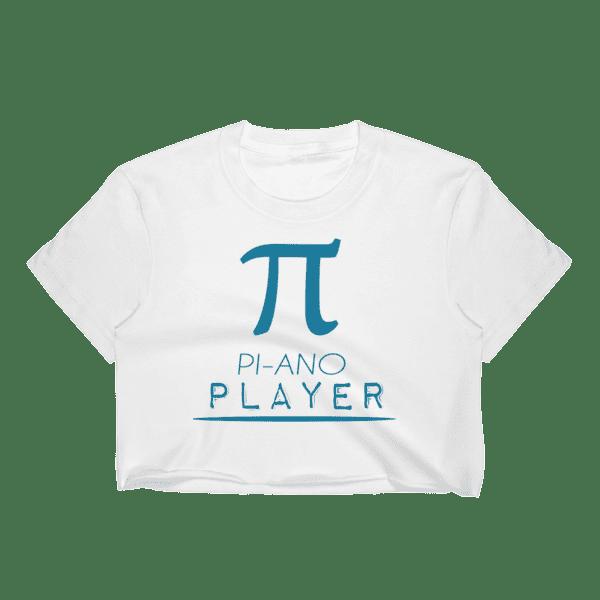 df126298a972 Women s Piano Player – Mathematics Pi Symbol Crop Top ⋆ What Devotion