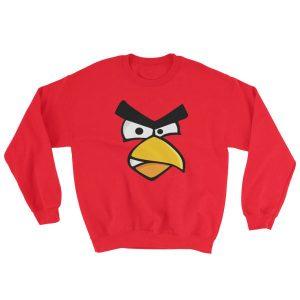 Angry Cardinal Bird Sweatshirt
