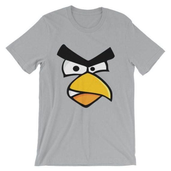 Unisex Angry Cardinal Bird short sleeve t-shirt