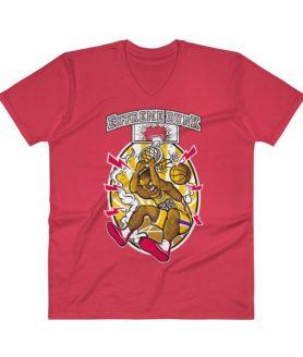 Basketball V-Neck T-Shirt