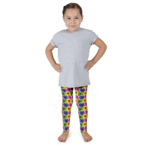 Colorful Sunflower Kid's leggings
