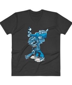 comic Character V-Neck T-Shirt