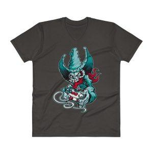 Funny Comic V-Neck T-Shirt