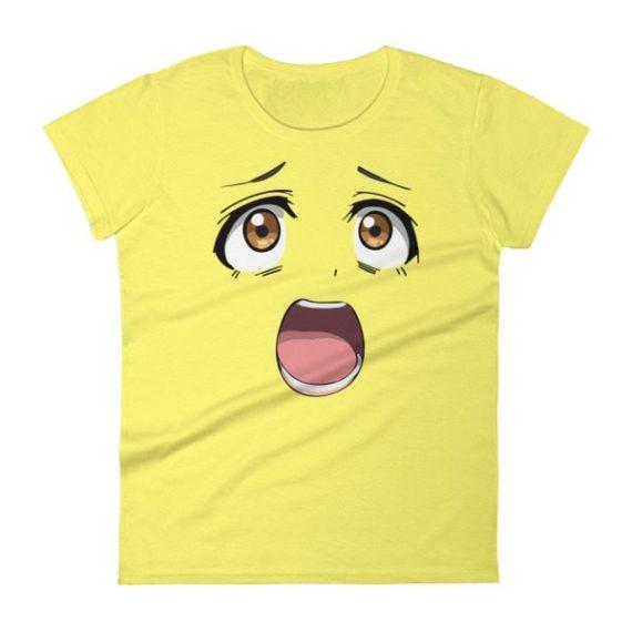 JAPANESE ANIME Women's short sleeve t-shirt