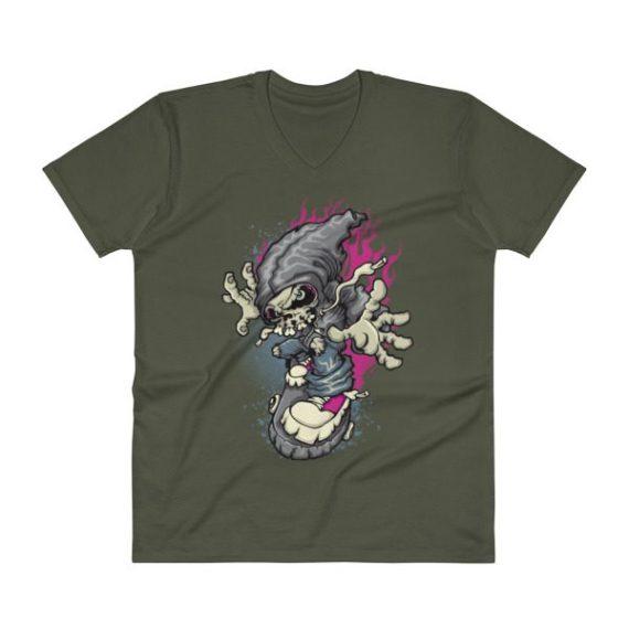 Skater V-Neck T-Shirt