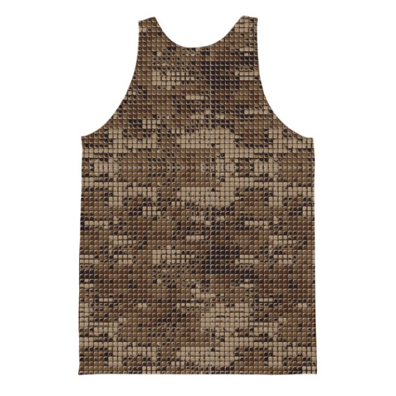 Unisex Military Camouflage Classic Fit Tank Top