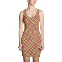 Women's Plaid Tartan Dress