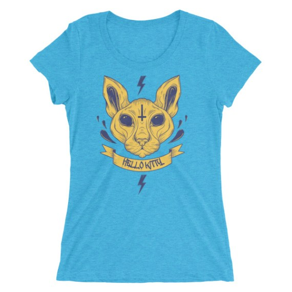 Ladies' Hello Kitty short sleeve t-shirt