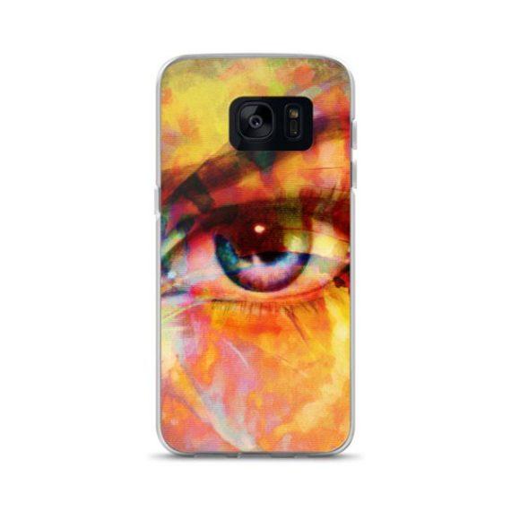 woman eye Samsung Case