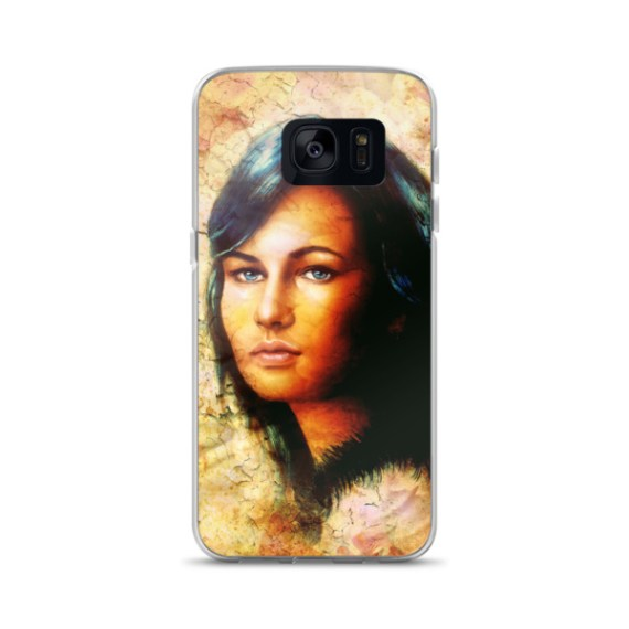 Young woman Samsung Case