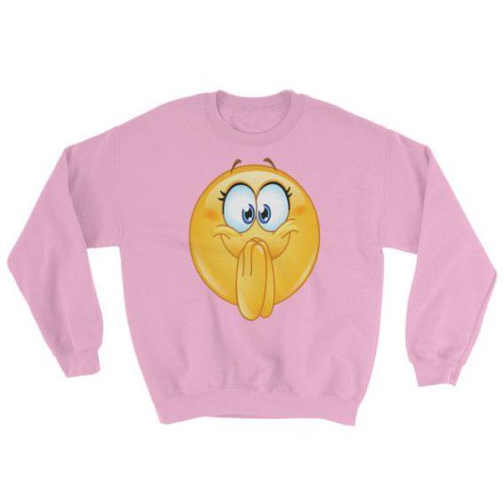 Excited Emoji Sweatshirt