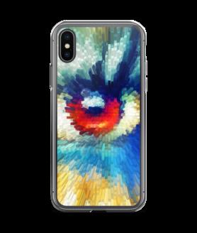 beaming eye iPhone Case