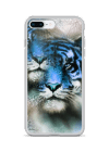 tiger and mandala with ornament iPhone Case