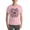 Be Strong And Courageous Short Sleeve Unisex T-Shirt