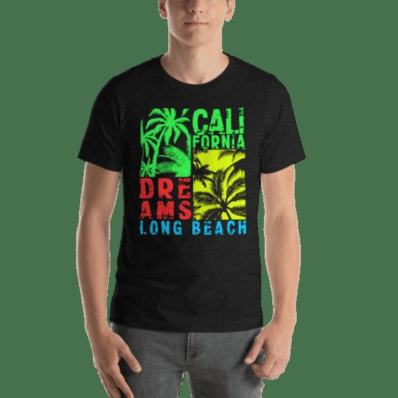 California Dreams - Long Beach Short Sleeve Unisex T-Shirt