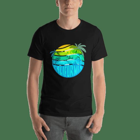 California Short Sleeve Unisex T-Shirt