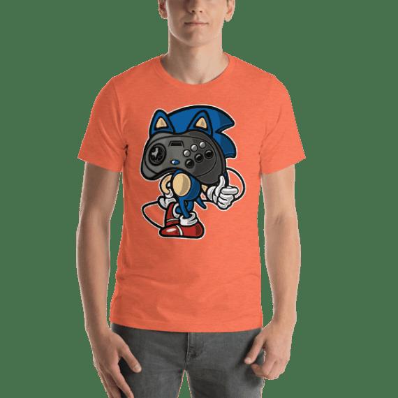 Cute Player Head Short Sleeve Unisex T-Shirt