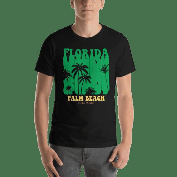 Florida Palm Beach Short Sleeve Unisex T-Shirt