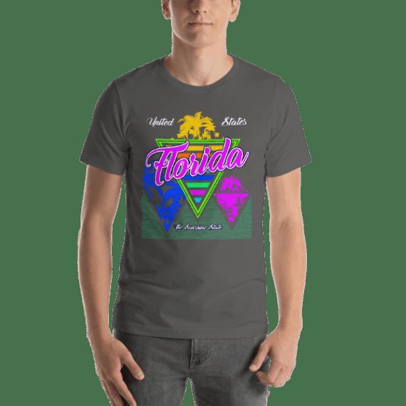 Florida The Sunshine State Short Sleeve Unisex T-Shirt