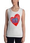 Ladies' Me So Lovable Muscle Tank Top