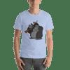 Machine Gun Monkey Short Sleeve Unisex T-Shirt